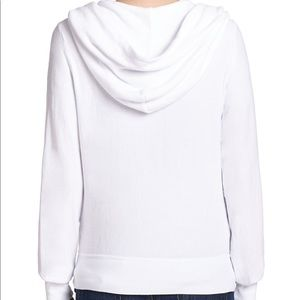 Wildfox white hooded sweatshirt size Xs excellent